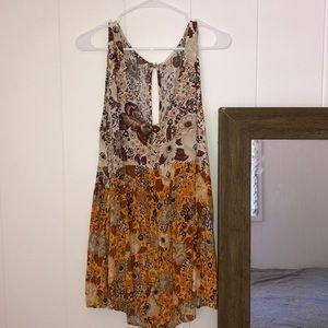 Desert daisy romper/play suit XL